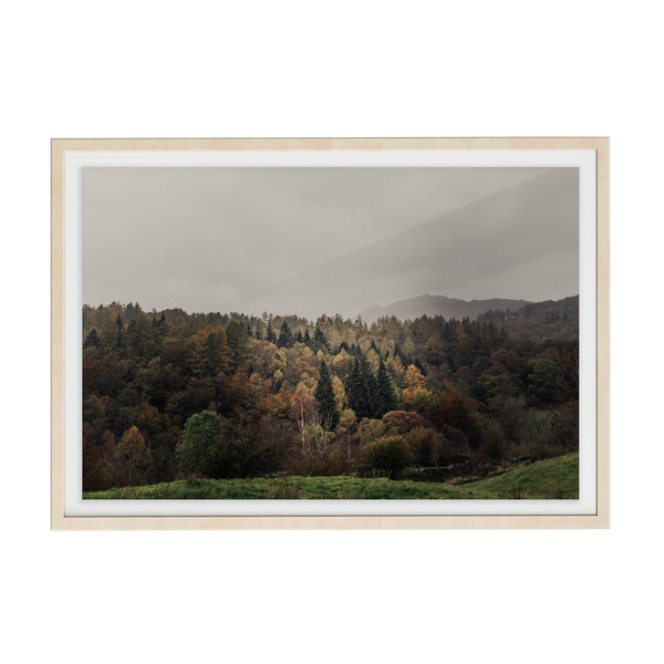 Coniston: Woodsmoke photographic print