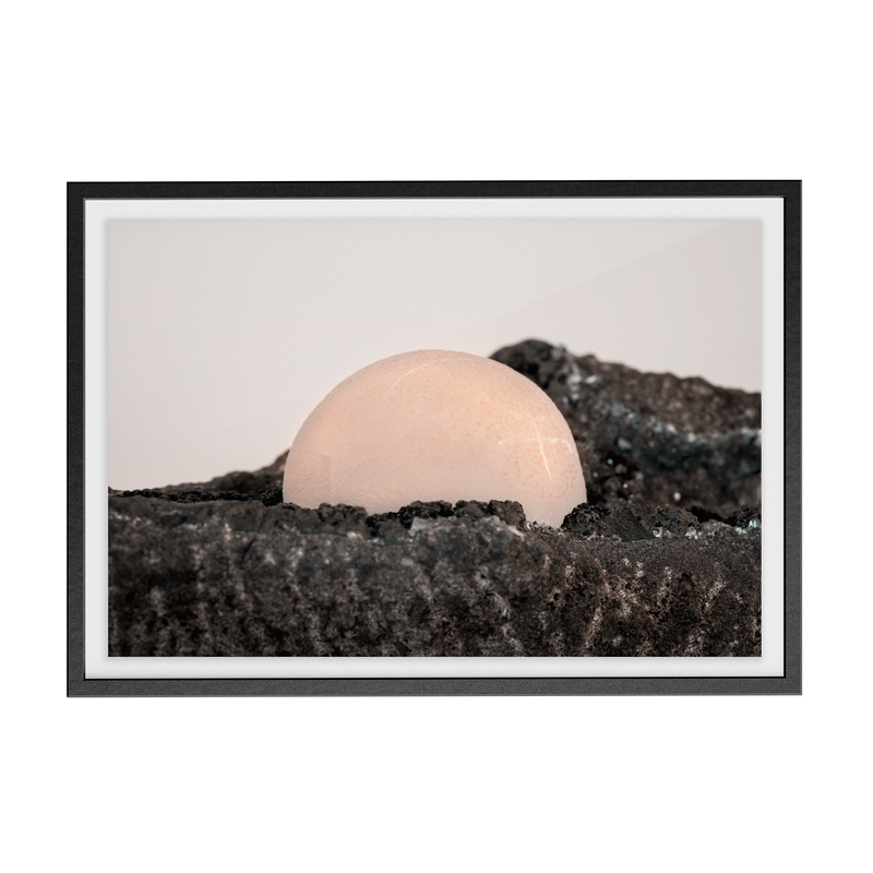 Crosshair Moonscape photographic print