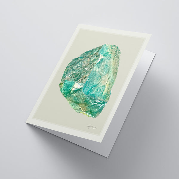 Future Desert Notecard — Aventurine Mix (No.1)