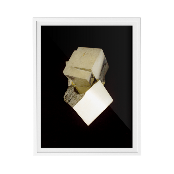 Pyrite Dark (No.2) print