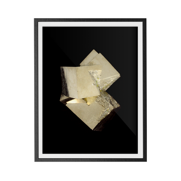 Pyrite Dark (No.3) print
