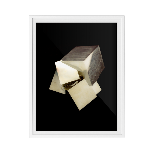 Pyrite Dark (No.4) print