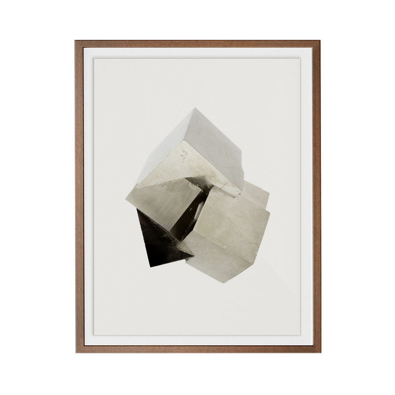 Pyrite Light (No.2) print