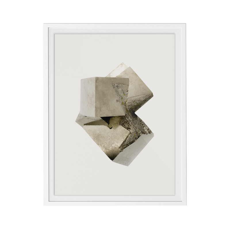 Pyrite Light (No.3) print