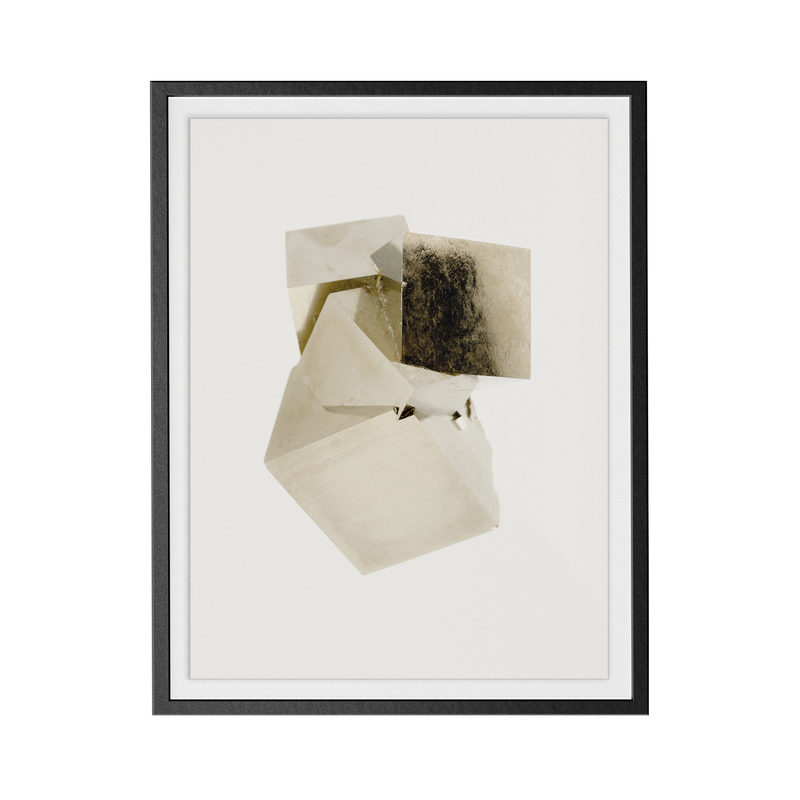 Pyrite Light (No.4) print