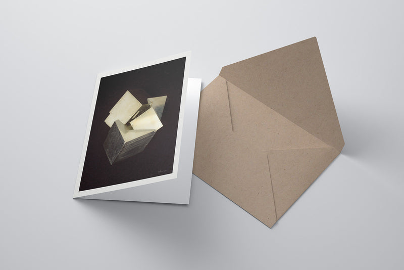 Pyrite Notecard (Dark)