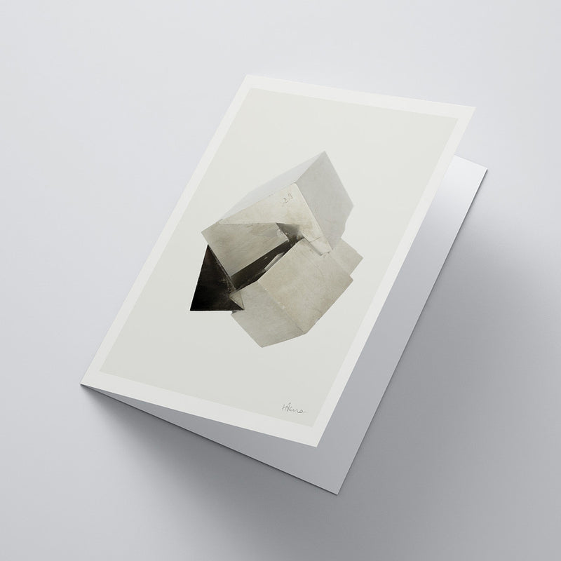 Pyrite Notecard (Light)