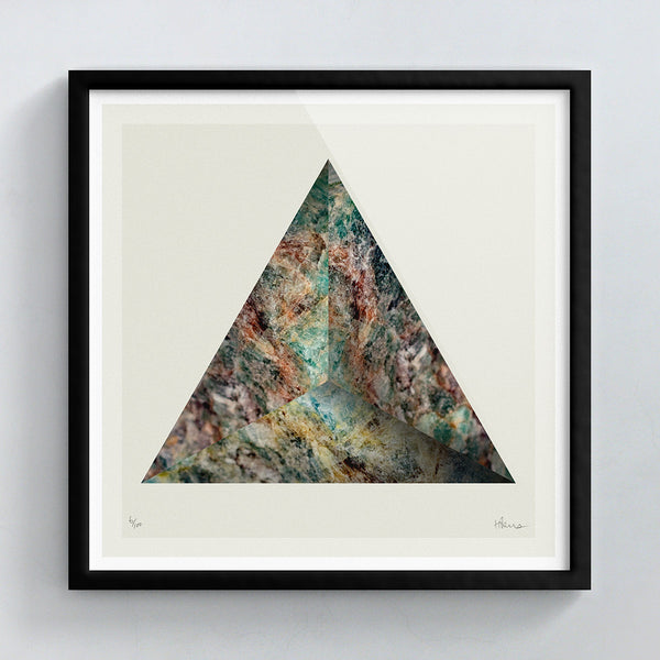 Raised Rock (No.1) print