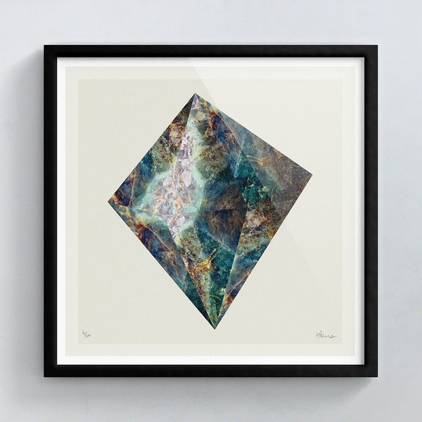 Raised Rock (No.2) print