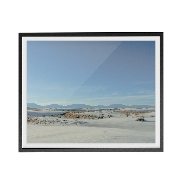 White Sands photographic print