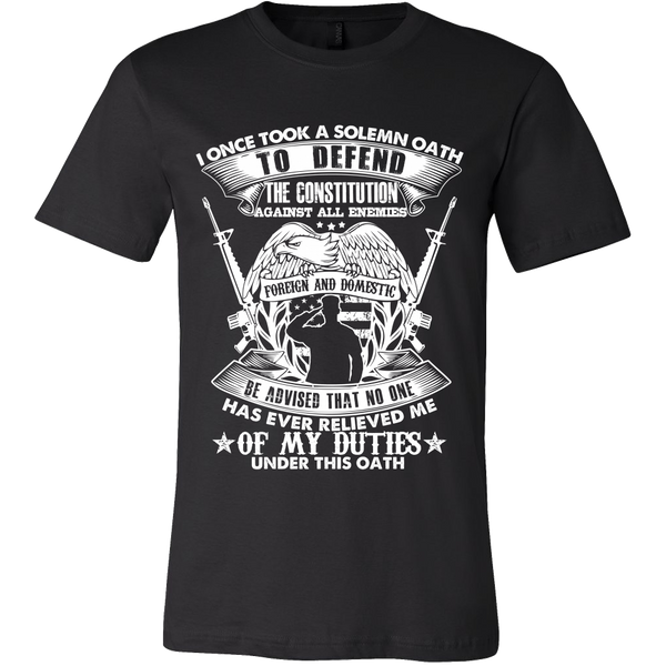 Men's Solemn Oath T-Shirt
