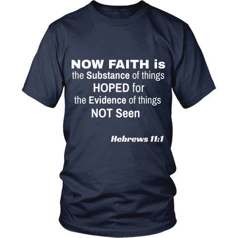 Now Faith Is - Men's T-Shirt - Tee Society - 1