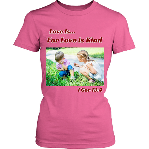 Women's Love Is Christian T-Shirts - Tee Society - 1