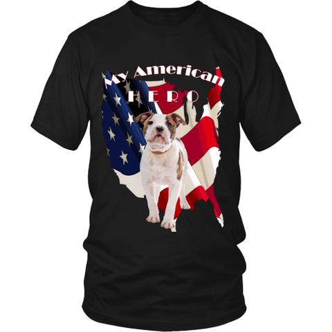 Men's My American Bulldog T-Shirt - Tee Society - 1