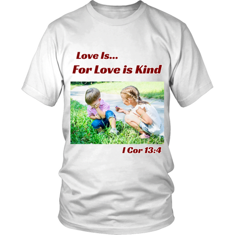 Love Is - Men's Christian T-Shirt - Tee Society - 1