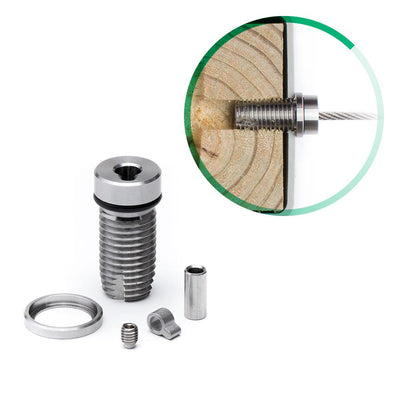 Cable Rail Tensioner Kit for Vinyl or Composite Post Sleeves