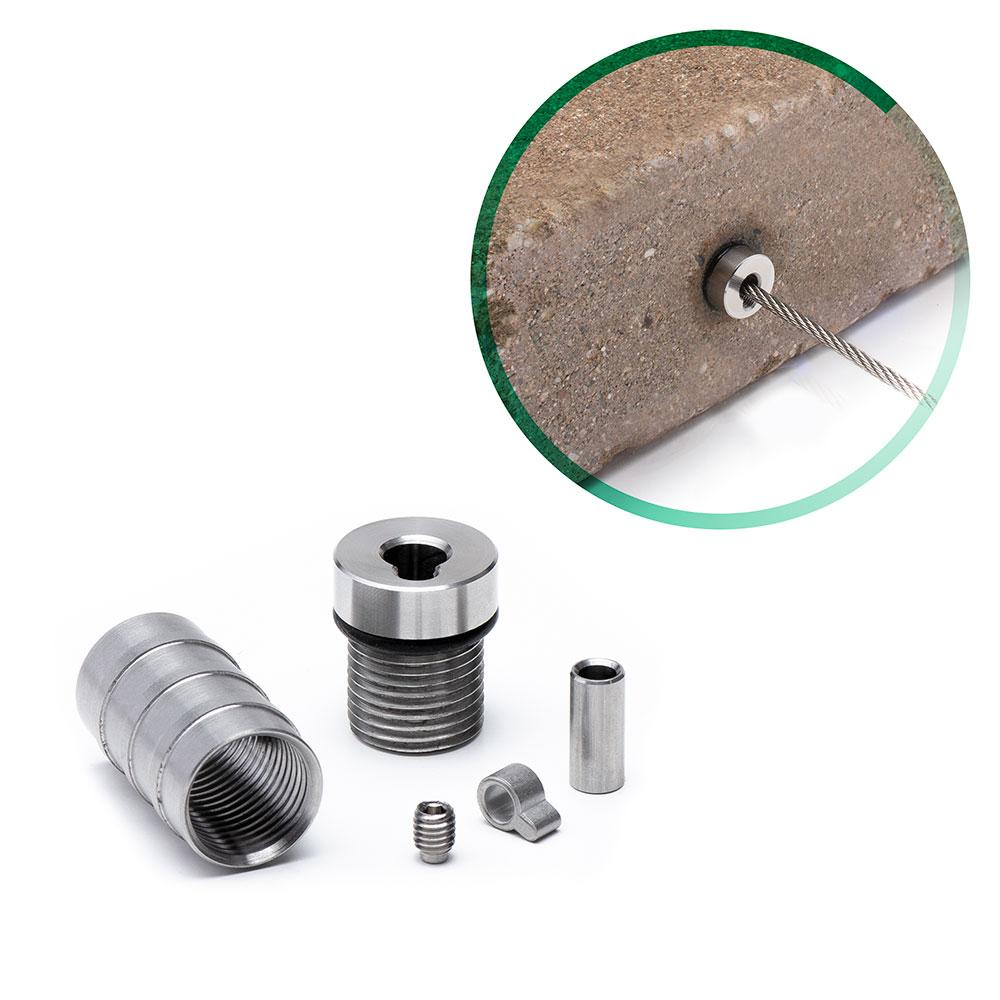 Cable Rail Tensioner Kit for Masonry Posts