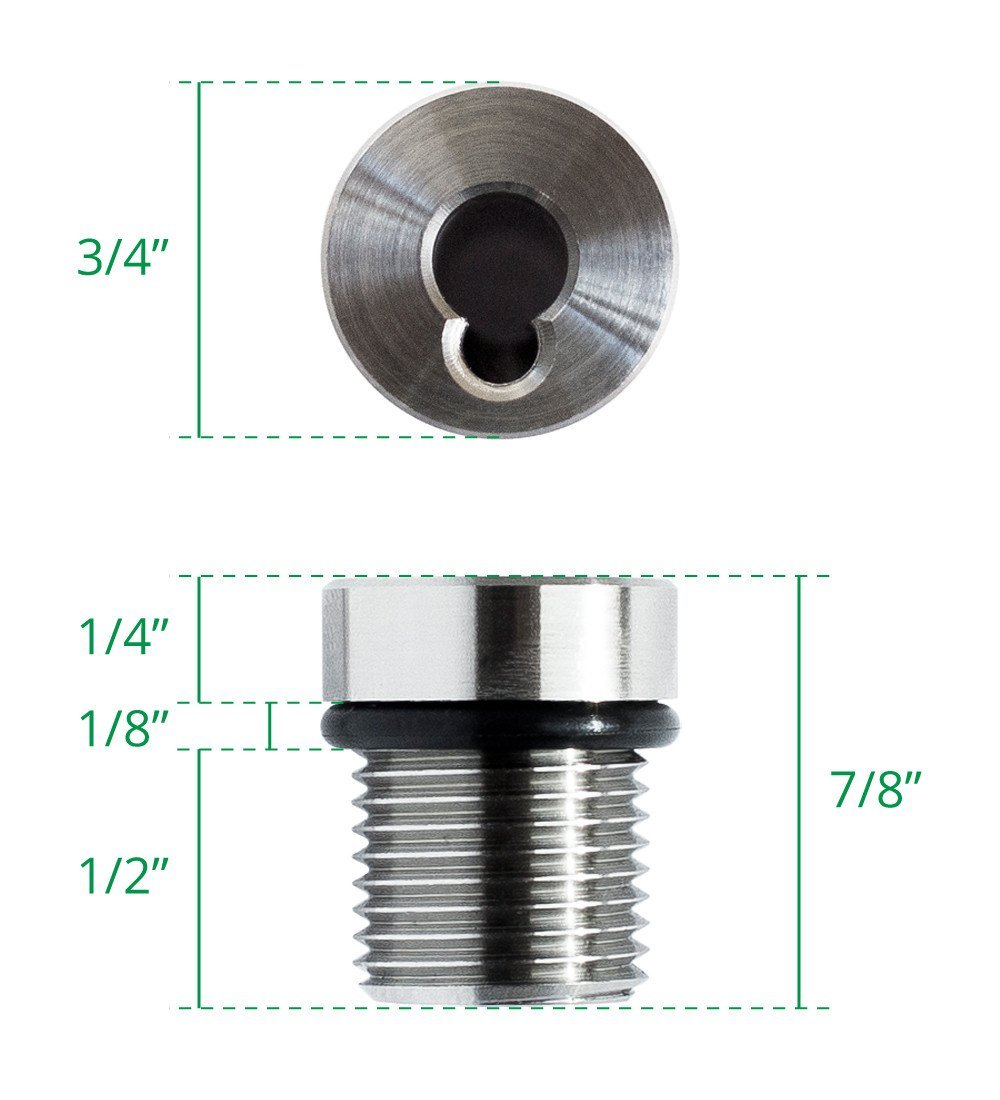 Cable Rail Tensioner Kit for Metal Posts