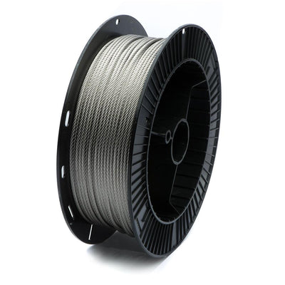 "5/32"" T316 Stainless Steel 7x7 Cable"