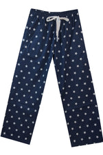 Brushed Navy White Star Pyjama Bottoms