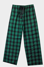 Brushed Green/Black Pyjama Bottoms