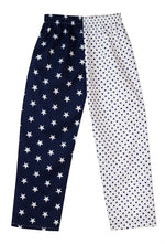 Navy Big Star Spot Pyjama Bottoms