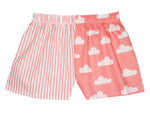 Girls Coral Cloud Shorts