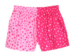 Girls Pink Star Shorts