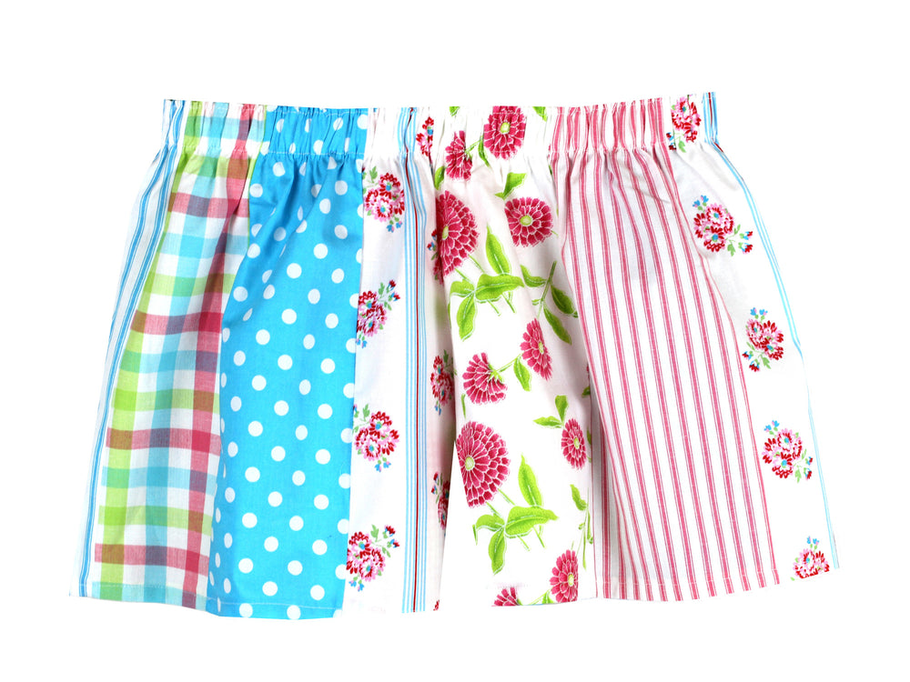 Pink/Blue Pick and Mix Shorts