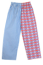 Blue Mini Union Jack Pyjamas Bottoms