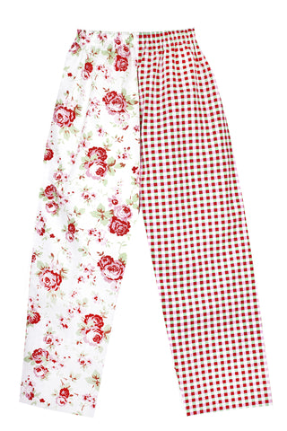 Pj-s White Rose Pyjama Bottoms