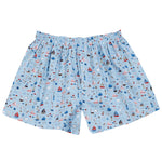 Boxers Blue Sail Boats