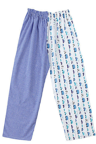 PJ-s Blue Cars Pyjama Bottoms