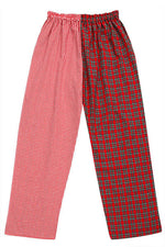 Pj-s Red Tartan Pyjama Bottoms