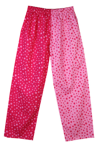 Pink Stars Pyjama Bottoms