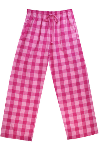 Brushed Bubblegum Pink Pyjama Bottoms