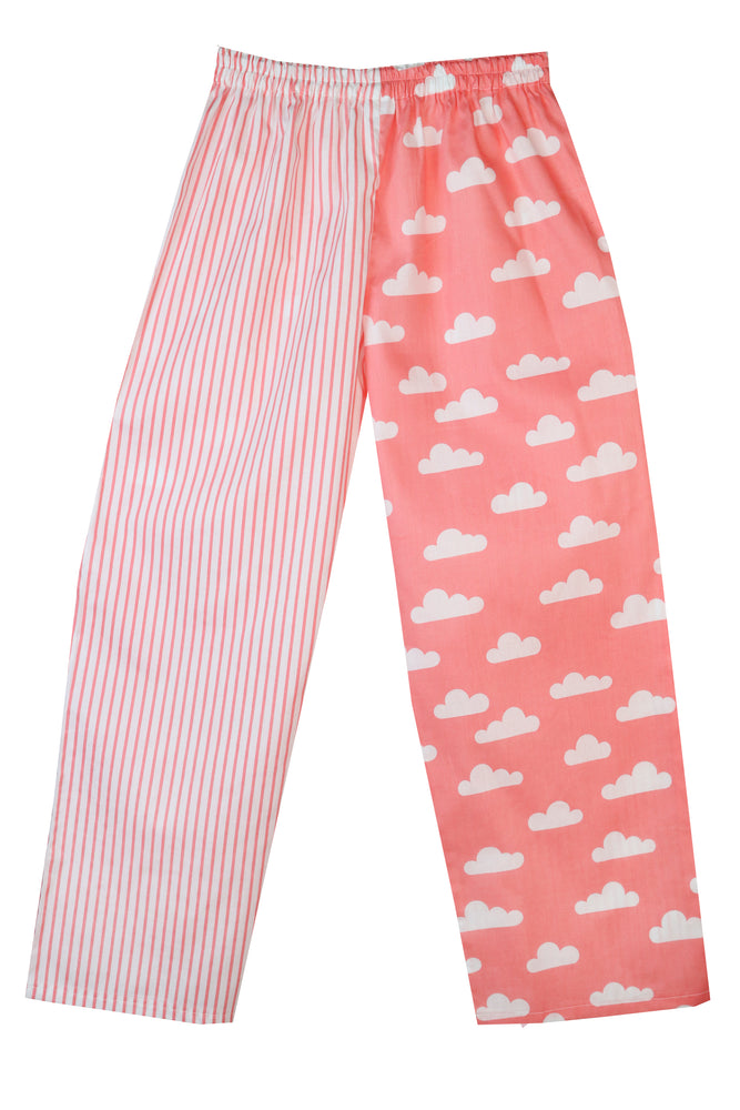 Coral Clouds Pyjama Bottoms