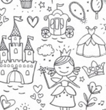 Colour Your Own Pyjamas - Fairy