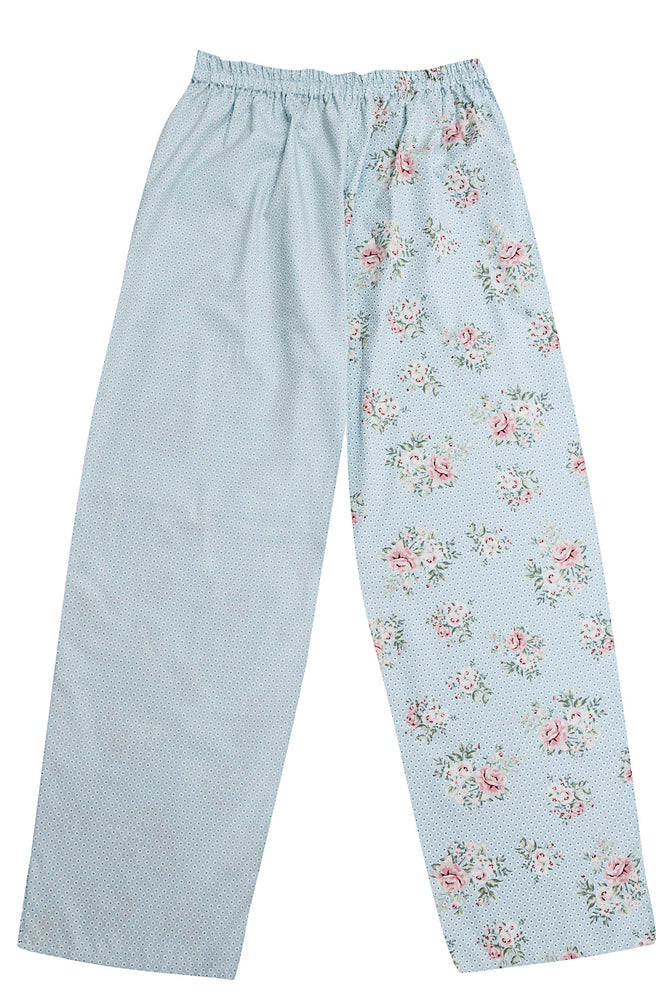 Blue Rose Pyjama Bottoms