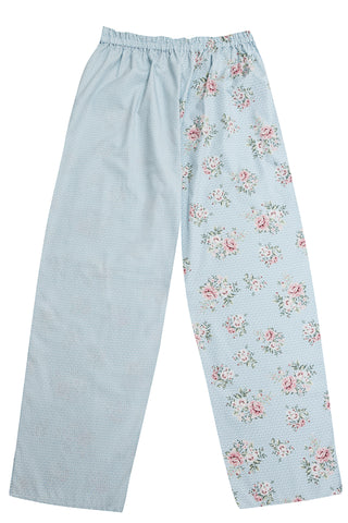 Pj-s Blue Rose Pyjama Bottoms