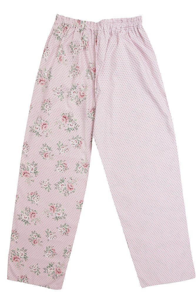 Pink Rose Pyjama Bottoms