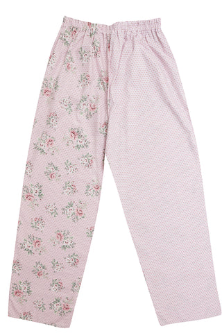 Pj-s Pink Rose Pyjama Bottoms