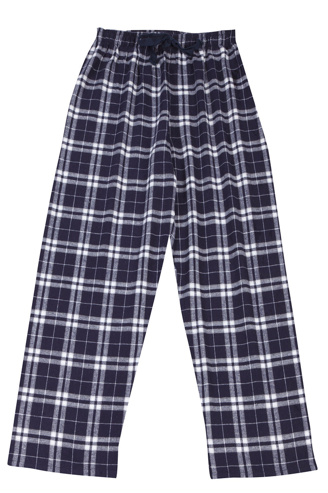 Brushed Navy/White Pyjama Bottoms