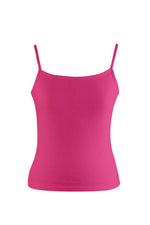 Fuchsia Pink Ladies Cami Top