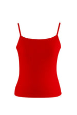 Red Ladies Cami Top