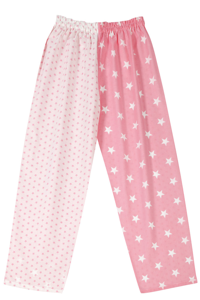 Pale Pink Stars Pyjama Bottoms