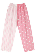 Pj-s Pale Pink Stars Pyjama Bottoms