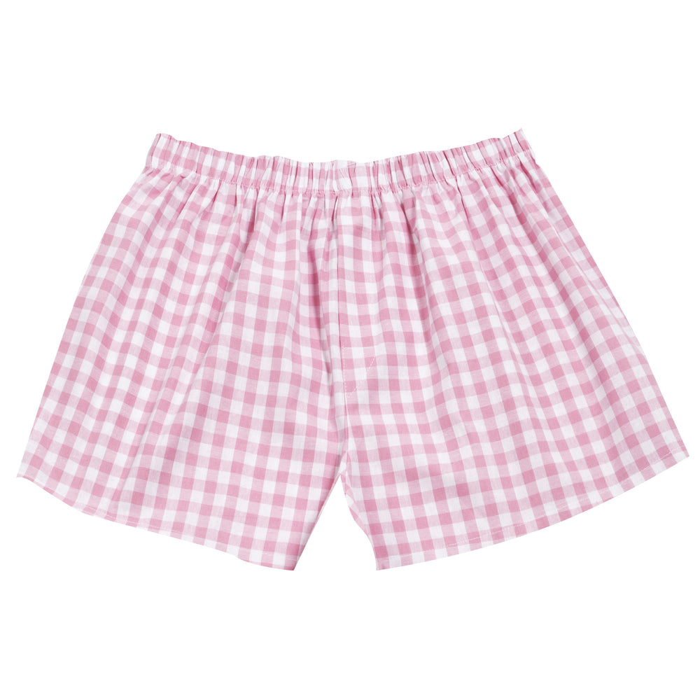 Pj-s Boxers Pink Check