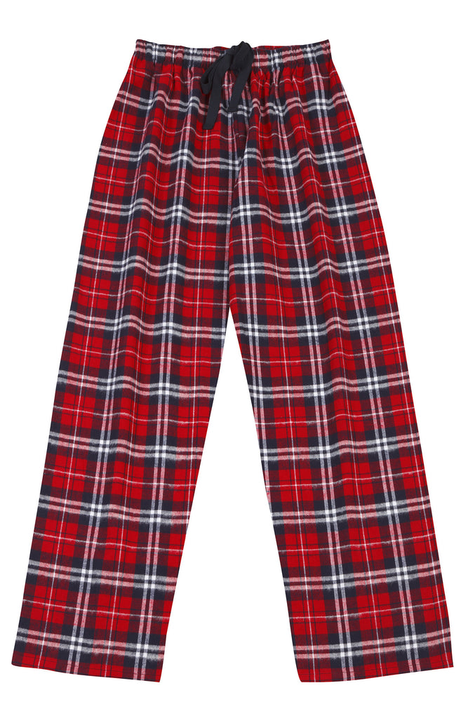 Brushed Red/Navy Pyjama Bottoms