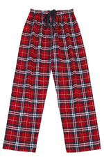 Pj-s Brushed Red/Navy Pyjama Bottoms